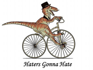 This dapper dinosaur is a BoC fan too.